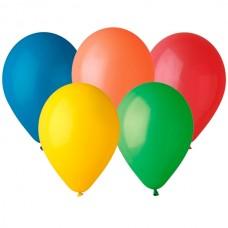 Ballon med 1-farvet logo / tryk