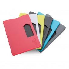 RFID anti-scanning kortholder med logo / tryk