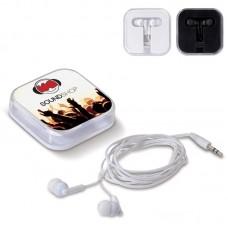 Høretelefoner med logo / tryk