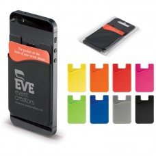 Smartphone Silicone Kortholder med logo / tryk