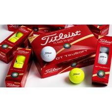 Titleist DT Truesoft Golfbold med logo / tryk