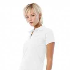 Safran Pure Dame Polo med logo / tryk