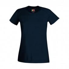Sport Performance Dame T-Shirt med logo / tryk