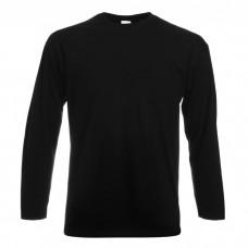 Langærmet T-Shirt herre med logo / tryk